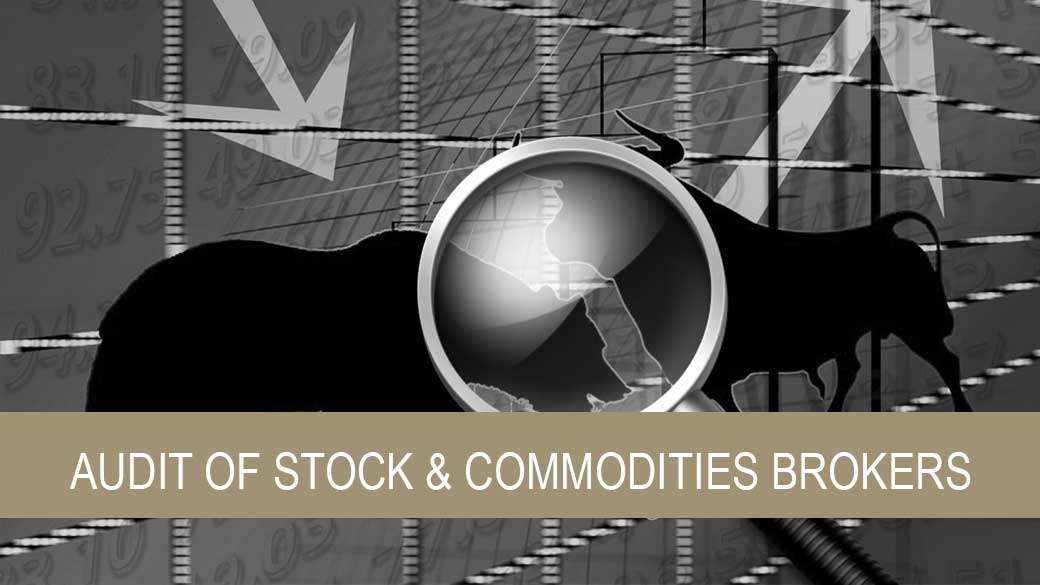 Audit of Stock & Commodities Brokers